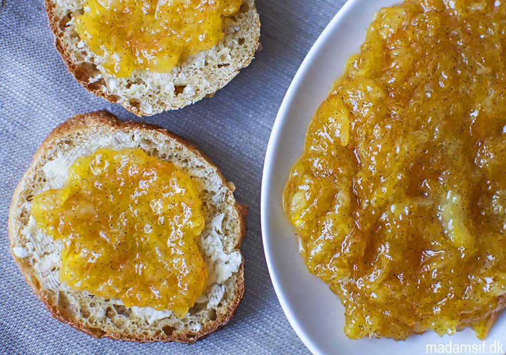 appelsinmarmelade med mandler